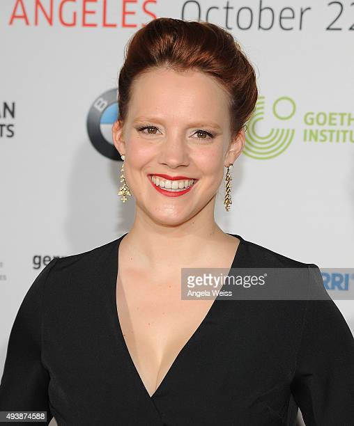 Actress Nina Rausch attends the 9th annual German Currents Festival of German Film - opening night red carpet gala at the Egyptian Theatre on October...