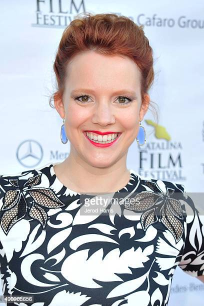 Actress Nina Rausch attends the Catalina Film Festival on September 26 2015 in Avalon California