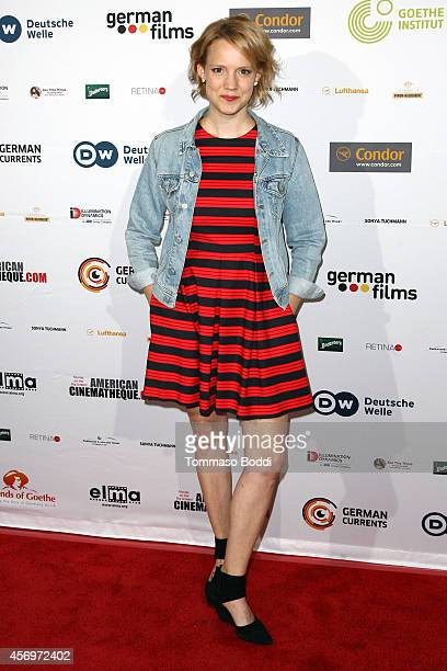 "Actress Nina Rausch attends the German Currents 8th annual festival of German Film opening night gala premiere of ""Beloved Sisters"" at the Egyptian..."