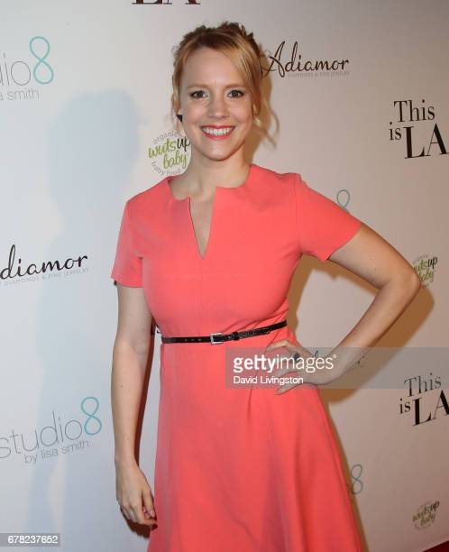 Actress Nina Rausch attends the premiere party for Circle 8 Production's This Is LA at Yamashiro Hollywood on May 3 2017 in Los Angeles California