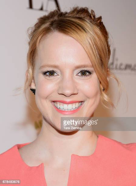 Actress Nina Rausch attends the premiere party for Circle 8 Production's 'This Is LA' at Yamashiro Hollywood on May 3 2017 in Los Angeles California