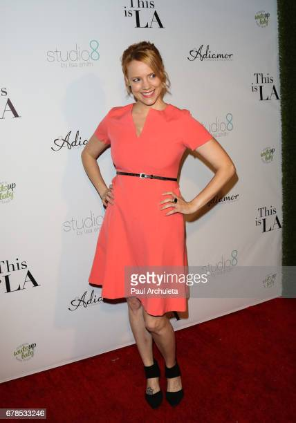 "Actress Nina Rausch attends the premiere party for ""This Is LA"" at Yamashiro Hollywood on May 3, 2017 in Los Angeles, California."