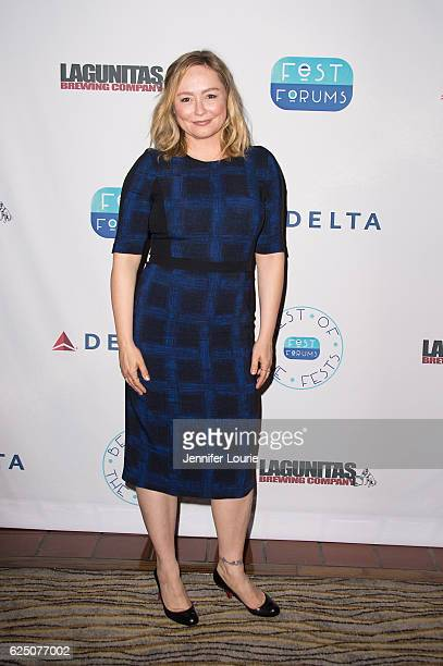 Actress Nina Siemaszko attends FestForums at The Fess Parker A Doubletree by Hilton Resort on November 21 2016 in Santa Barbara California