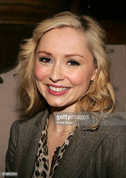Actress Nina Siemaszko attends the Hallmark Channel's TCA Press Tour party on January 13 2005 at The Ebell Club in Los Angeles California