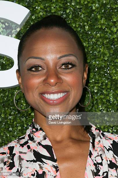 Actress Nischelle Turner arrives at the CBS CW Showtime Summer TCA Party at the Pacific Design Center on August 10 2016 in West Hollywood California