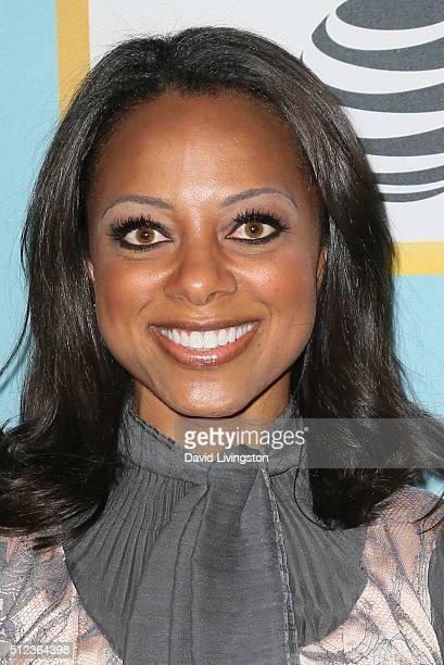 Actress Nischelle Turner arrives at the Essence 9th Annual Black Women event in Hollywood at the Beverly Wilshire Four Seasons Hotel on February 25...