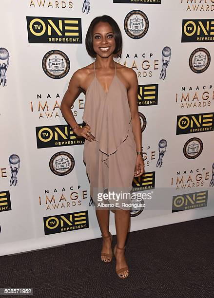 Actress Nischelle Turner attends the 47th NAACP Image Awards NonTelevised Awards Ceremony on February 4 2016 in Pasadena California