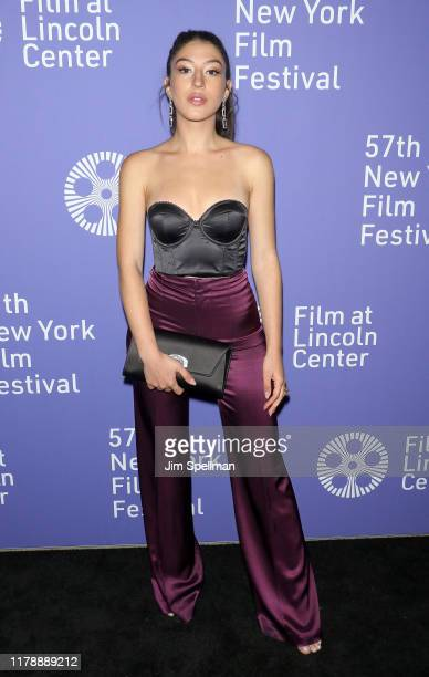 Actress Noa Fisher attends the Uncut Gems premiere during the 57th New York Film Festival at Alice Tully Hall Lincoln Center on October 03 2019 in...