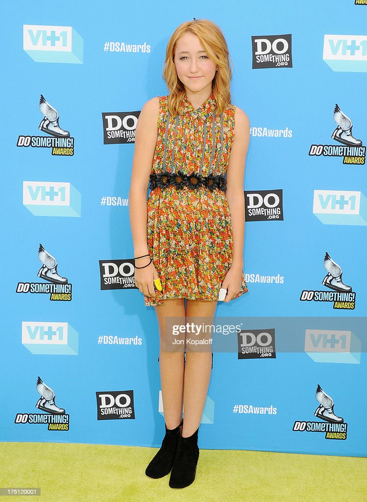 Actress Noah Cyrus arrives at the 2013 Do Something Awards at Avalon on July 31, 2013 in Hollywood, California.
