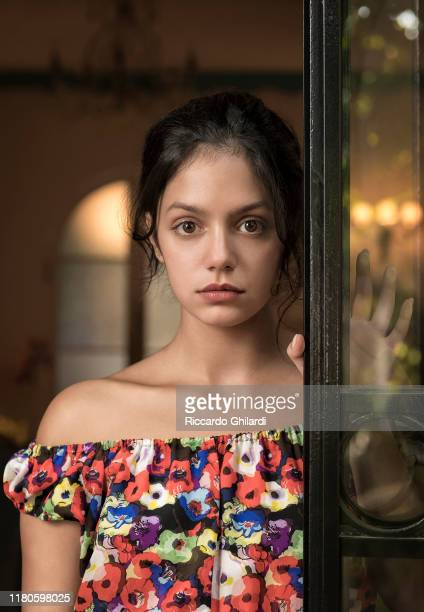 Actress Noée Abita poses for a portrait on September 1 2019 in Venice Italy