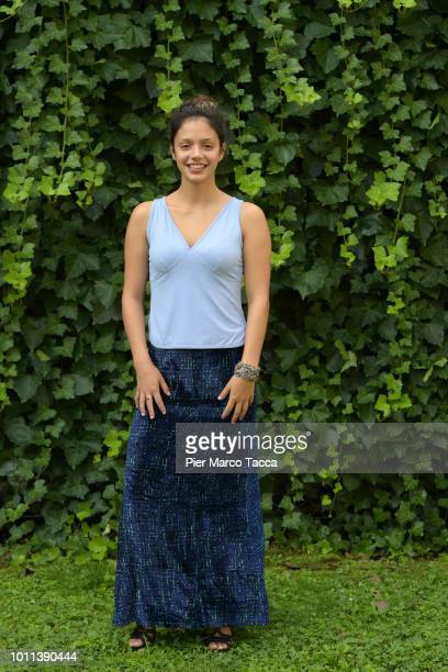 Actress Noee Abita attends the 'Genese' photocall during the 71st Locarno Film Festival on August 5 2018 in Locarno Switzerland