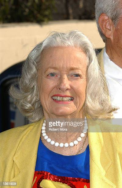 Actress Noel Neill poses for a photograph at the 13th Annual Stater Bros Route 66 Rendezvous media day at Bob's Big Boy Restaurant on August 30 2002...
