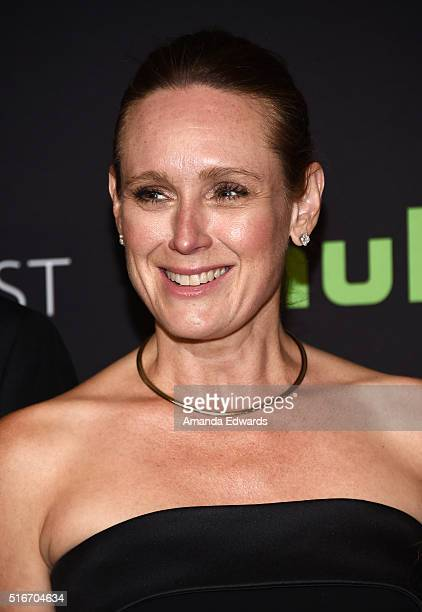 Actress Noelle Lippman arrives at The Paley Center For Media's 33rd Annual PaleyFest Los Angeles Stars of Law and Order SVU Chicago Fire Chicago PD...