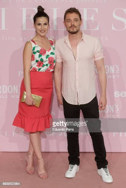 Actress Noemi Ruiz and actor Federico Aguado attends the 'Pieles' premiere at Capitol cinema on June 7 2017 in Madrid Spain
