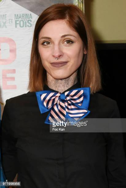 Actress Noemie Alazard attends the 'Gaspard va au mariage' premiere at UGC Cine Cite des Halles on January 29 2018 in Paris France