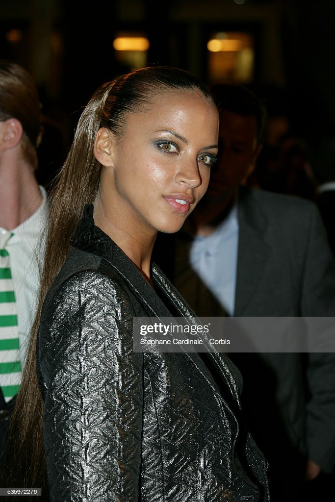Actress Noemie Lenoir attends the closing ceremony dinner during the 58th Cannes Film Festival.