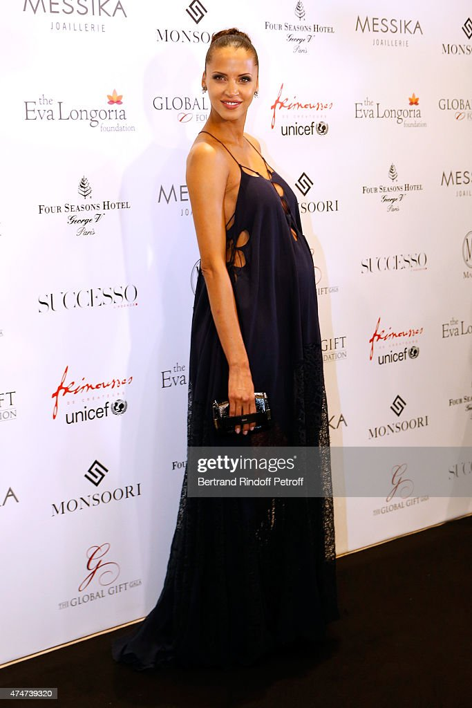 Global Gift Gala : Photocall At Hotel Georges V in Paris