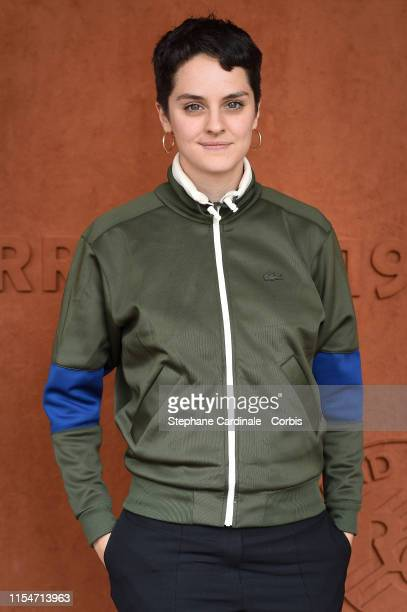 Actress Noemie Merlant attends the 2019 French Tennis Open Day Fourteen at Roland Garros on June 08 2019 in Paris France