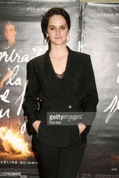 Actress Noemie Merlant attends the Portrait De La Jeune Fille en Feu Paris premiere at UGC Cite Les Halles on September 16 2019 in Paris France