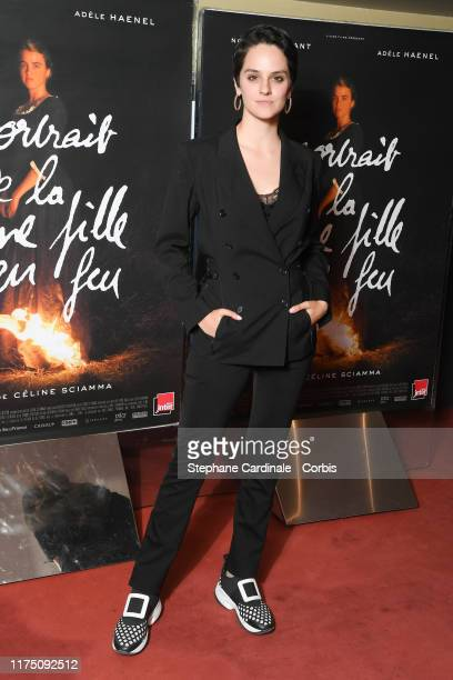 Actress Noemie Merlant attends the Premiere of 'Portrait de la Jeune Fille En Feu' at UGC Les Halles on September 16 2019 in Paris France