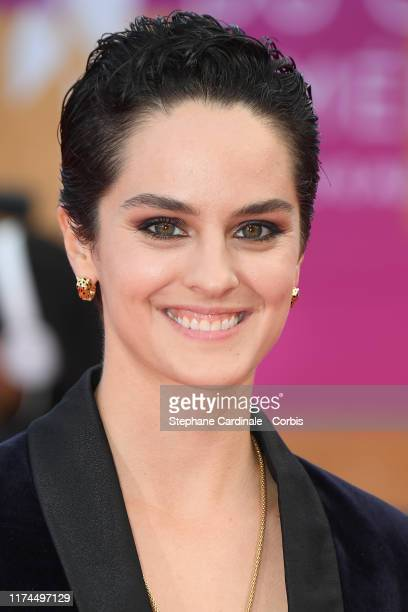 Actress Noemie Merlant attends the Tribute to Kristen Stewart during the 45th Deauville American Film Festival on September 13 2019 in Deauville...