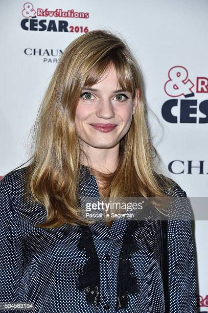Actress Noemie Schmidt attends the 'Cesar Revelations 2016' Photocall And Cocktail Dinner on January 11 2016 in Paris France