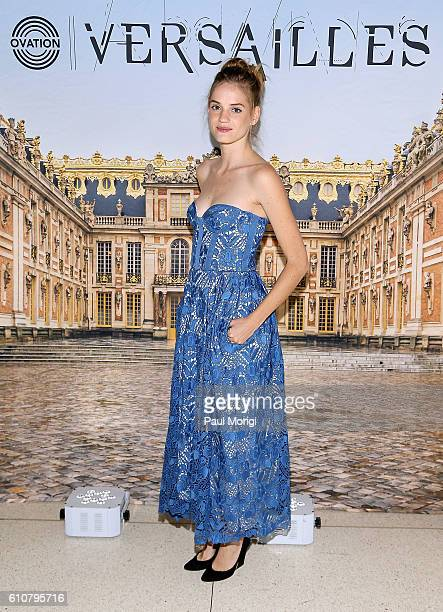 Actress Noemie Schmidt attends the premiere of Ovation TV's 'Versailles' at French Embassy on September 27 2016 in Washington DC
