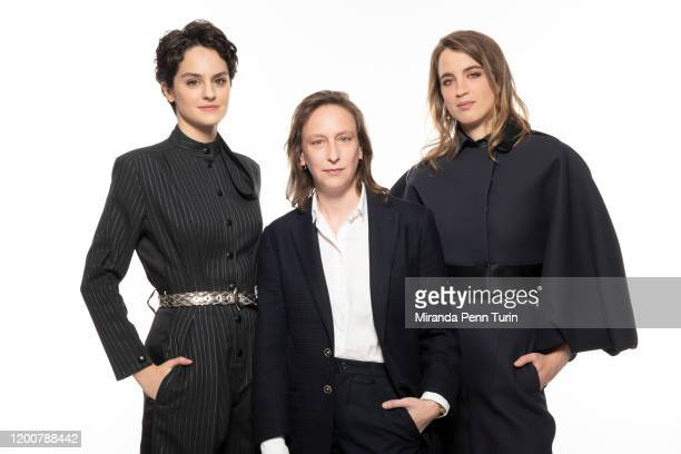 Actress Noémie Merlant director Céline Sciamma and actress Adèle Haenel pose for a portrait at the 2020 Film Independent Spirit Awards Nominee Brunch...