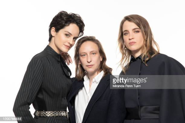 Actress Noémie Merlant, director Céline Sciamma and actress Adèle Haenel pose for a portrait at the 2020 Film Independent Spirit Awards Nominee...