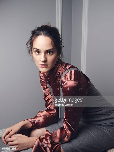 Actress Noémie Merlant is photographed for Self Assignment on September 22 2016 in Paris France