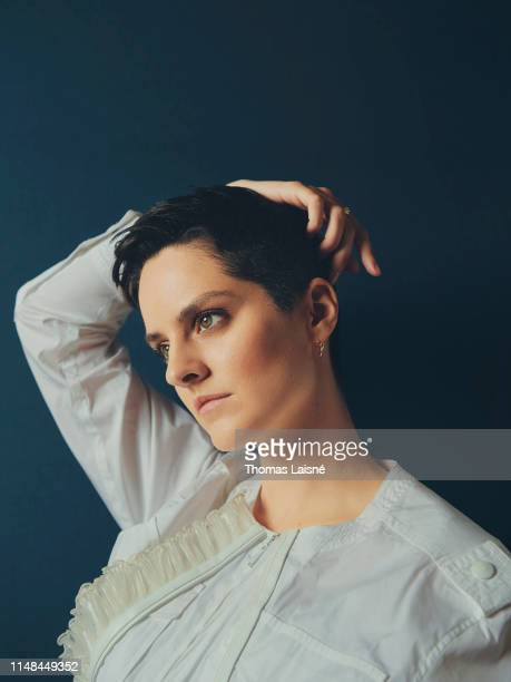 Actress Noémie Merlant poses for a portrait on May 15 2019 in Cannes France