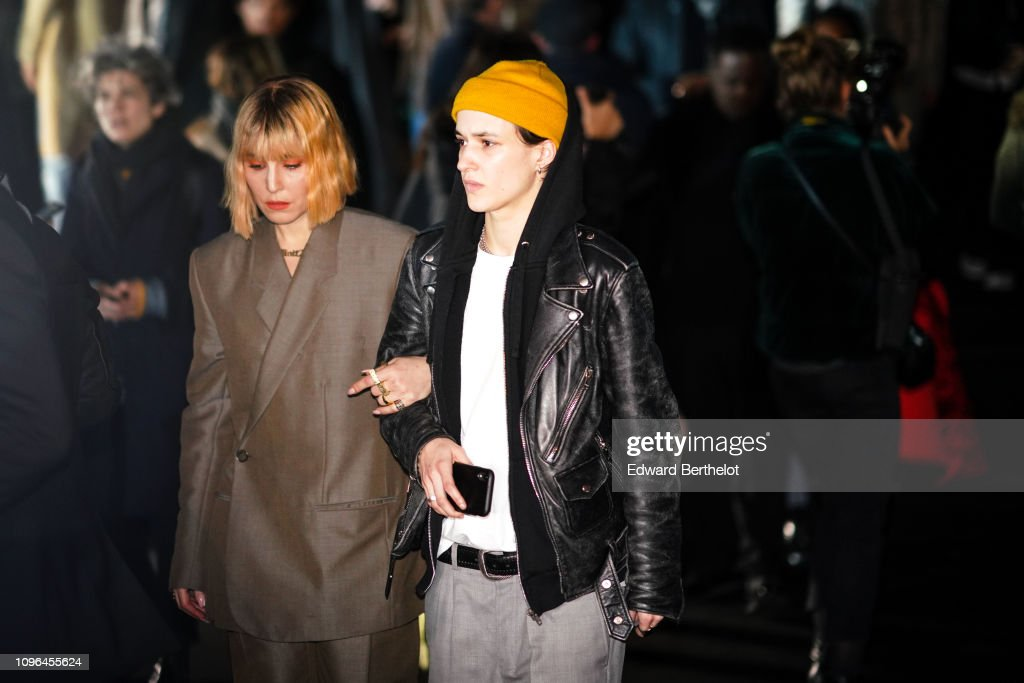 Celebrity Sightings - Paris Fashion Week - Menswear F/W 2019-2020 : Day Four : News Photo