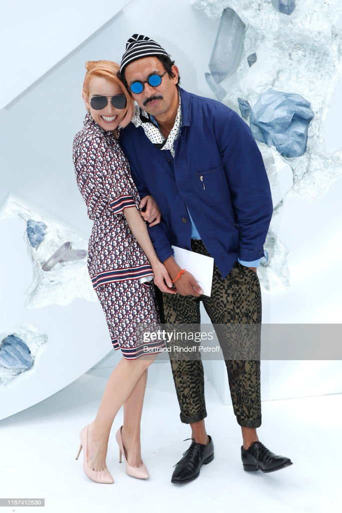 Dior Homme : Front Row - Paris Fashion Week - Menswear Spring/Summer 2020 : News Photo