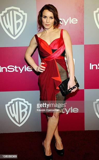 Actress Noomi Rapace arrives at the 2011 InStyle And Warner Bros 68th Annual Golden Globe Awards postparty held at The Beverly Hilton hotel on...