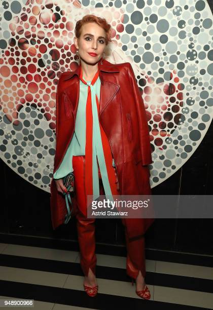 Actress Noomi Rapace attends 2018 Tribeca Film Festival afterparty for Stockholm at Up Down on April 19 2018 in New York City
