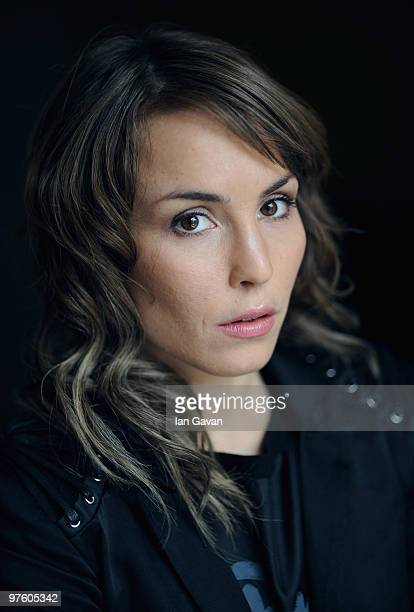 Actress Noomi Rapace attends a photocall to promote the film 'Girl with the Dragon Tattoo' at the Soho Hotel on March 10 2010 in London England
