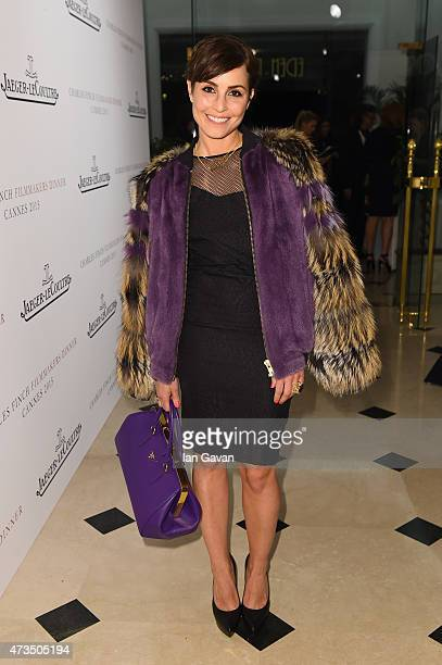 Actress Noomi Rapace attends The Art Of Behind The Scenes JaegerLeCoultre And Finch Partners party at Hotel du CapEdenRoc on May 15 2015 in Cap...