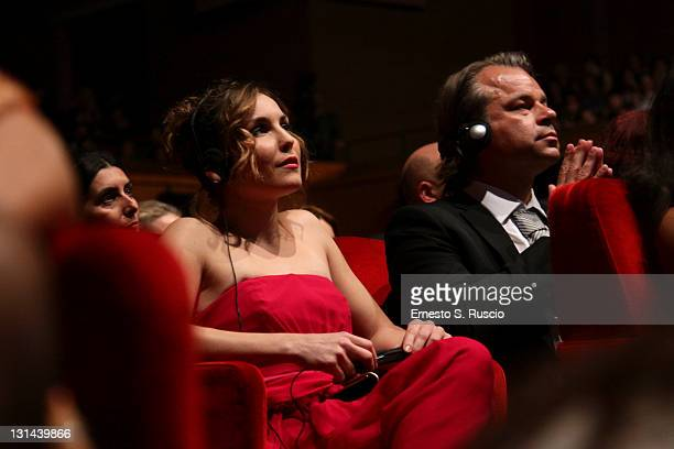 Actress Noomi Rapace attends the Closing Ceremony of the 6th International Rome Film Festival on November 4 2011 in Rome Italy