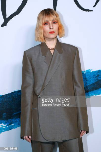 Actress Noomi Rapace attends the Dior Homme Menswear Fall/Winter 20192020 show as part of Paris Fashion Week on January 18 2019 in Paris France