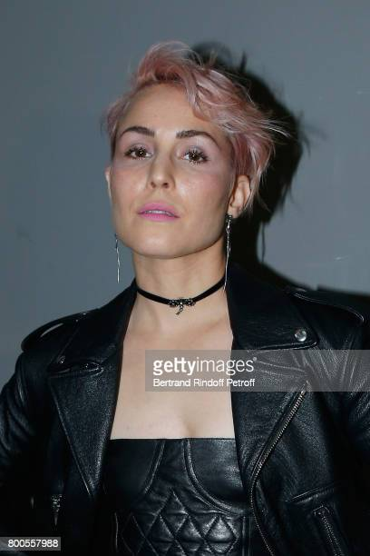 Actress Noomi Rapace attends the Dior Homme Menswear Spring/Summer 2018 show as part of Paris Fashion Week on June 24 2017 in Paris France