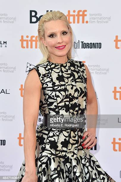 Actress Noomi Rapace attends 'The Drop' premiere during the 2014 Toronto International Film Festival at Princess of Wales Theatre on September 5 2014...