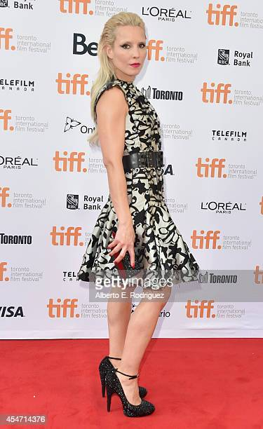 Actress Noomi Rapace attends The Drop premiere during the 2014 Toronto International Film Festival at Princess of Wales Theatre on September 5 2014...