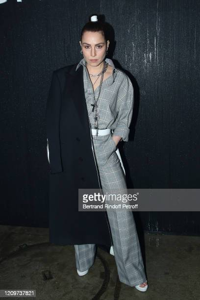 Actress Noomi Rapace attends the Givenchy show as part of the Paris Fashion Week Womenswear Fall/Winter 2020/2021 on March 01 2020 in Paris France