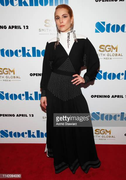 Actress Noomi Rapace attends the Stockholm New York Premiere at Museum of Modern Art on April 11 2019 in New York City