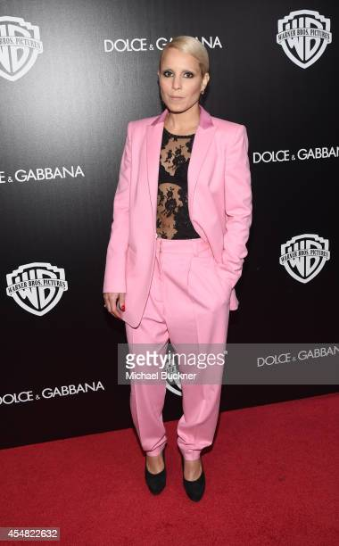 Actress Noomi Rapace attends the Warner Bros Pictures and Dolce Gabbana TIFF cocktail party during the 2014 Toronto International Film Festival at...