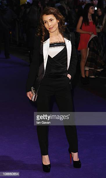 Actress Noomi Rapace attends the World Film Premiere of 'Paul' at the Empire Leicester Square on February 7 2011 in London England