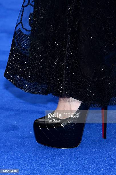 Actress Noomi Rapace attends the world premiere of Prometheus at the Empire Leicester Square on May 31 2012 in London England