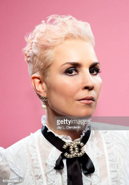 Actress Noomi Rapace from the film 'Bright' is photographed in the LA Times photo studio at ComicCon 2017 in San Diego CA on July 20 2017 CREDIT MUST...