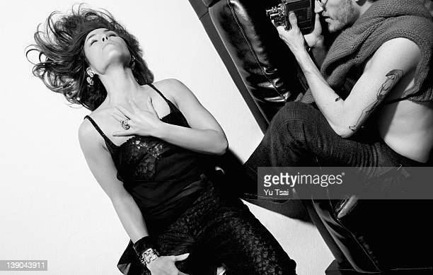 Actress Noomi Rapace is photograpged for Black Book Magazine on August 31 2011 in Los Angeles California PUBLISHED IMAGE