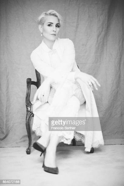 Actress Noomi Rapace is photographed for Self Assignment on June 20 2017 in Paris France